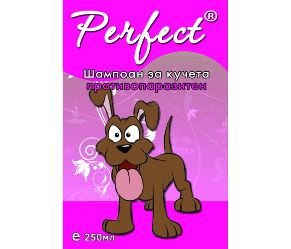 Противопаразитен шампоан за кучета Perfect 250ml