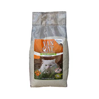 VAN-CAT-бял-бентонит—портокал-5кг